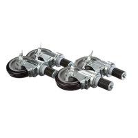 Krowne Metal Corporation 28-129S Casters - 4/Set
