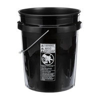 Delfield 3547771 Bucket 5 Gallon Black
