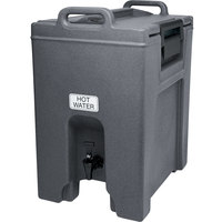 Cambro UC1000191 Granite Gray Ultra Camtainer 10.5 Gallon Insulated Beverage Dispenser