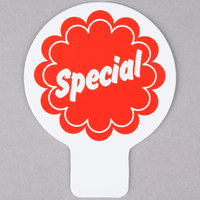 Deli Tag Topper - SPECIAL - Red