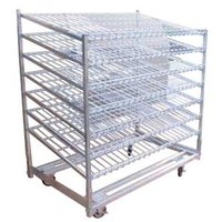 Winholt DRS-3660KD-WM 59 3/8 inch x 35 1/4 inch Knock-Down Wire Merchandising Rack