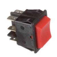 Skydyne 96000002 Rocker Switch (Black W/ Red Rkr)