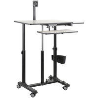 Oklahoma Sound EDTCP EduTouch Pro Mobile Sit and Stand Cart