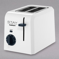 STAY by Cuisinart WPT220W 2 Slice White Toaster