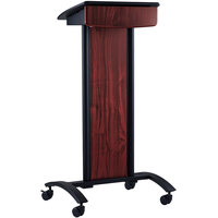 Oklahoma Sound CVS 46 1/2 inch Mobile Conversation Lectern