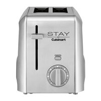 STAY by Cuisinart WST240 2 Slice Stainless Steel Toaster