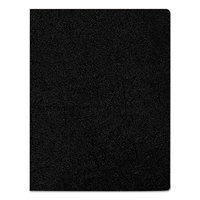 Fellowes 52146 8 3/4 inch x 11 1/4 inch Black Executive Presentation Binding System Cover   - 50/Pack