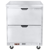 Beverage-Air WTRD27AHC-2-FLT-23 27 inch Compact ADA Height Undercounter Refrigerator with Two Drawers
