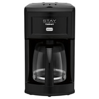 STAY by Cuisinart WCM280BK Black 12 Cup Coffee Maker - 120V