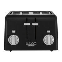 STAY by Cuisinart WPT440BK 4 Slice Black Toaster