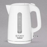 STAY by Cuisinart WCK170W White 1.7 Liter Kettle - 120V