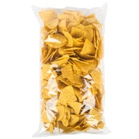Mission 2 lb. Yellow Triangle Corn Tortilla Chips - 6/Case
