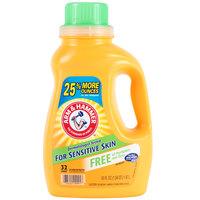 Arm & Hammer 50 oz. 2X HE Perfume & Dye Free Liquid Laundry Detergent