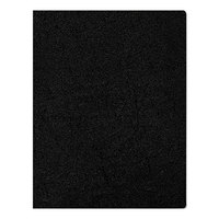 Fellowes 52149 8 3/4 inch x 11 1/4 inch Black Executive Presentation Binding System Cover   - 200/Pack