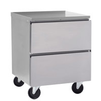 Delfield GUF32P-D 32 inch ADA Height Undercounter Freezer with Two Drawers