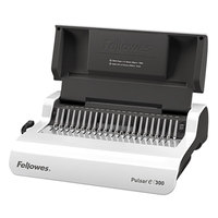 Fellowes 5216701 Pulsar E 300-Sheet White Electric Comb Binding System