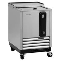 Turbo Air TBC-24SD-N6 24 inch Super Deluxe Stainless Steel Bottle Cooler