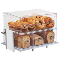 Cal-Mil 1471-15SET Eco Modern White Merchandiser Set with Frame, Bin, and Bread Box