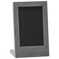 Cal-Mil 3818-46-83 Ashwood 4 inch x 6 inch Chalkboard Stand with Black Chalkboard