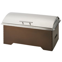 Cal-Mil 3644-84 8 Qt. Full Size Bronze Collapsible Chafer