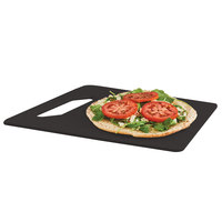 Cal-Mil 4002-812-13 12 inch x 8 inch Angled Black Serving Board