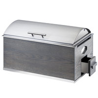 Cal-Mil 3828-83 Ashwood 8 Qt. Full Size Chafer with Lid
