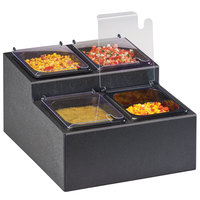 Cal-Mil 3687-13 Classic 4-Compartment Two Tier Condiment Bar