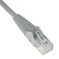 Tripp Lite N201014GY CAT6 14' Gray Snagless Molded Patch Cable