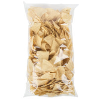 Mission 2 lb. White Triangle Corn Tortilla Chips - 6/Case