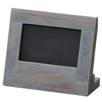 Cal-Mil 3818-23-83 Ashwood 3 inch x 2 inch Chalkboard Stand with Black Chalkboard