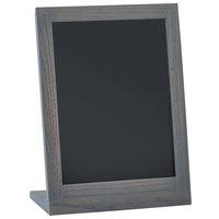 Cal-Mil 3818-811-83 Ashwood 8 1/2 inch x 11 inch Chalkboard Stand with Black Chalkboard
