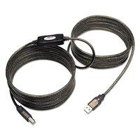 Tripp Lite U042025 25' Black USB 2.0 Active Repeater Cable
