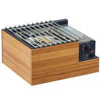 Cal-Mil 3435-60 Bamboo Butane Burner Frame - 14 inch x 13 inch x 7 1/2 inch