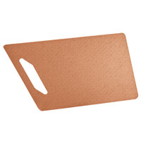 Cal-Mil 4002-815-14 15 inch x 8 inch Angled Natural Serving Board