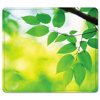 Fellowes 5903801 Leaves Nonskid Base Recycled Mouse Pad