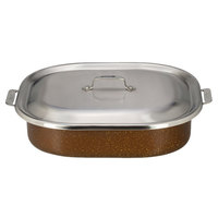 Bon Chef 60004CLDCOFFEE Cucina 7 Qt. Coffee Stainless Steel Induction French Oven with Lid