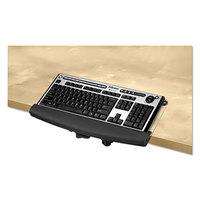 Fellowes 9473401 I-Spire 18 4/9 inch x 8 3/8 inch Black / Gray Desktop Edge Keyboard Lift