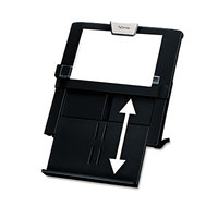 Fellowes 8039401 Professional Series 12 inch x 2 1/2 inch x 11 1/2 inch Black 250 Sheet Plastic Desktop Copyholder