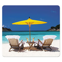 Fellowes 5916301 Caribbean Beach Recycled Mouse Pad