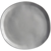 American Metalcraft CP10SH Crave 11 1/8 inch Shadow Coupe Melamine Plate