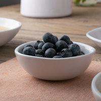 American Metalcraft CBL4CL Crave 4.5 oz. Cloud Melamine Fruit Bowl
