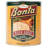 Bonta #10 Can Pizza Sauce with Basil - 6/Case