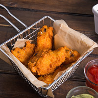 Pierce Chicken Wing-Zings 7.5 lb. Fully Cooked Hot and Spicy Breaded Chicken Wings - 2/Case