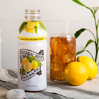 Herbal Mist 20 oz. Sweetened Lemon Iced Tea with Yerba Mate   - 12/Case