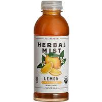 Herbal Mist 16.9 fl. oz. Organic Sweetened Lemon Iced Tea with Yerba Mate - 12/Case