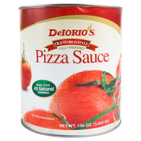 DeIorio's #10 Can Old Style Pizza Sauce - 6/Case