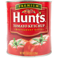 Hunt's #10 Premium Restaurant Style Tomato Ketchup Can   - 6/Case