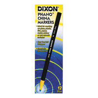 Dixon 00080 Blue Standard China Marker - 12/Pack