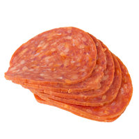 Ciao Pizza Prima 5 lb. Sliced Pepperoni - 2/Case