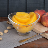 Kime's 28 oz. Premium Canned Peach Halves in Heavy Syrup   - 24/Case